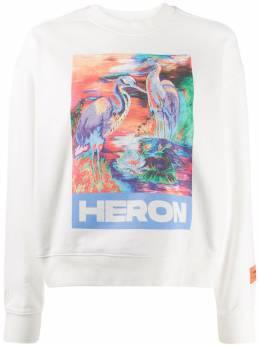 Heron Preston толстовка с принтом Heron HWBA003R208960130188