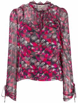 Dvf Diane Von Furstenberg блузка Lilian с цветочным принтом 13938DVF