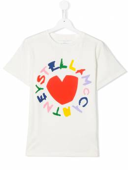 Stella McCartney Kids футболка с графичным принтом 588684SOJ70