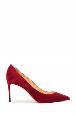 Бордовые туфли Kate 85 Christian Louboutin 106181307