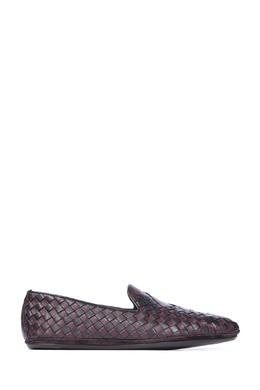 Кожаные плетеные мокасины Bottega Veneta 1669181343