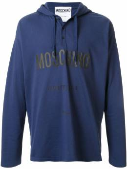 Moschino худи с логотипом Couture A12062042