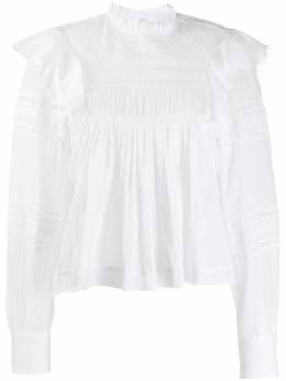 Isabel Marant Etoile блузка Viviana с вышивкой HT110220P063E