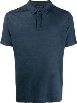 Roberto Collina полупрозрачная рубашка-поло RC60024