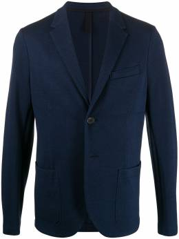 Harris Wharf London фактурный пиджак C8P22PGE