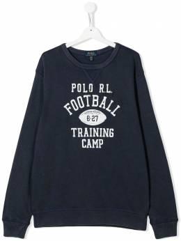 Ralph Lauren Kids толстовка Football Training Camp 321786408