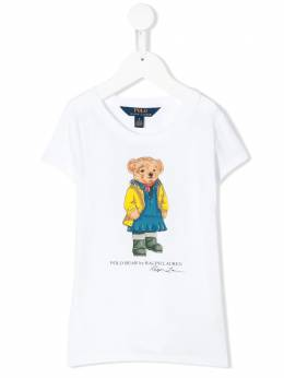 Ralph Lauren Kids Polo Bear print T-shirt 31275166