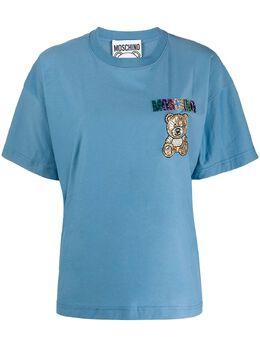 Moschino футболка с логотипом A07100540