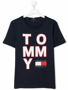 Tommy Hilfiger Junior футболка с логотипом KB0KB05428