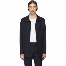 Maison Margiela Navy Wool Three-Pocket Jacket S50BN0431 S52640