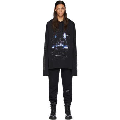 Vetements Black STAR WARS Edition Dark Side T-Shirt Hoodie USW21LS020 - 1