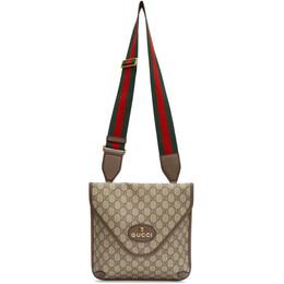 Gucci Beige Neo Vintage GG Supreme Messenger Bag 598604 9C2VT