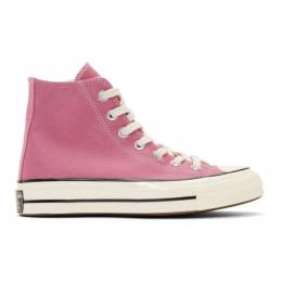 Converse Pink Chuck 70 High Sneakers 164947C