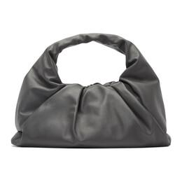 Bottega Veneta Grey Small Shoulder Pouch Bag 610524 VCP40