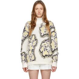 3.1 Phillip Lim Multicolor Wool Abstract Daisy Sweater E201-7327FCF