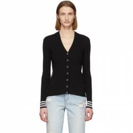 Off-White Black Industrial Cardigan OWHB005R20H330681000