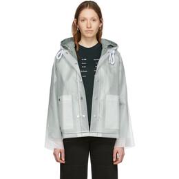 Proenza Schouler Off-White Short Lined Rain Jacket WL2011085