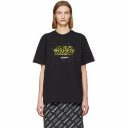 Vetements Black STAR WARS Edition Episodes T-Shirt USW21TS001