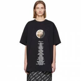 Vetements Black STAR WARS Edition Tatooine Episode IV T-Shirt USW21TS012