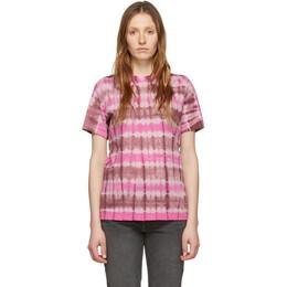Isabel Marant Etoile Pink Dena T-Shirt 20PTS0300-20P075E