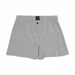 A.P.C. Grey Cabourg Boxer Briefs COBMB-H18024