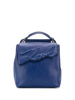 Karl Lagerfeld мягкий рюкзак K/Signature 201W3119341