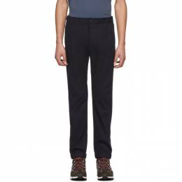 Ps by Paul Smith Navy Elasticized Waistband Trousers M2R-182T-A20751