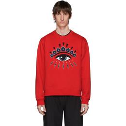 Kenzo Red Eye Sweatshirt FA55SW0554XC