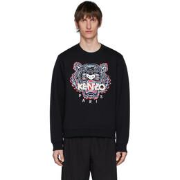Kenzo Black Tiger Sweatshirt FA55SW0014XA