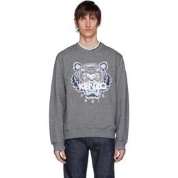 Kenzo Grey Tiger Sweatshirt FA55SW0014XA