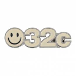 032C SSENSE Exclusive Off-White Smiley Pin D19.03.003