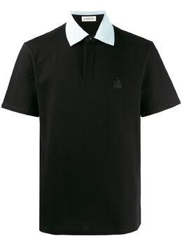 Lanvin рубашка-поло с вышитым логотипом RMJE0001JG01P20