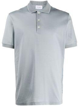 Salvatore Ferragamo однотонная рубашка-поло 120526H723408