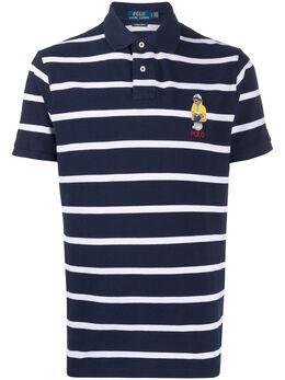 Polo Ralph Lauren полосатая рубашка-поло Bear 710795723001