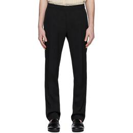 1017 Alyx 9Sm Black Wool Elasticized Waist Trousers AAMPA0073FA01BLK0001