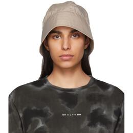1017 Alyx 9Sm Beige Browns Edition Buckle Bucket Hat AAUHA0029FA01BEG0003