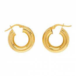 Sophie Buhai Gold Tiny Hoop Earrings PC-E04-GOLD