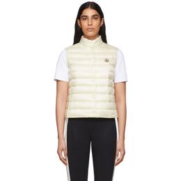 Moncler White Down Liane Vest F10931A1020053048