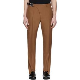 1017 Alyx 9Sm Tan Stirrup Suit Trousers AAMPA0097FA01BRW0004