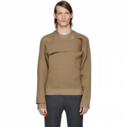 Bottega Veneta Tan Rib Sweater 608279 VKJT0