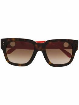Linda Farrow солнцезащитные очки в квадратной оправе LFL1001C3SUN