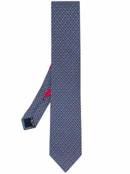Salvatore Ferragamo галстук с принтом 722922