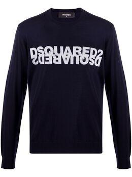 Dsquared2 толстовка вязки интарсия с логотипом S74HA1052S17241