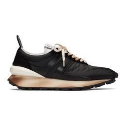 Lanvin Black Bumper Sneakers FM-SKBRUN-NYLO-P20
