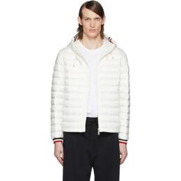Moncler White Down Giroux Jacket 1A1180053279032