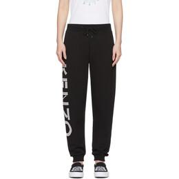Kenzo Black Sport Jogger Lounge Pants F002PA722952