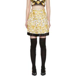 Versace White Barocco Signature Skirt A79448 A232981