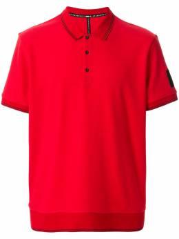 Blackbarrett рубашка-поло с отделкой в полоску 1CGXJT360REB