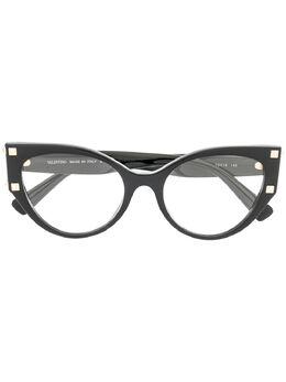 Valentino Eyewear очки VA3044 в овальной оправе VA3044