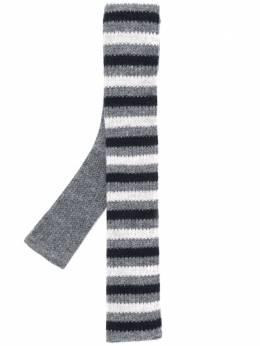 N.peal трикотажный галстук в полоску NPA661B